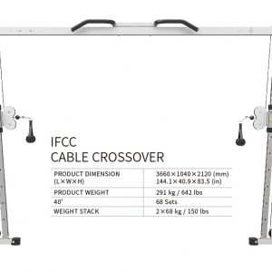 FAIZ GYM Supplies | Impulse IFCC Cable Crossover