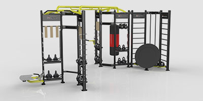 FAIZ GYM Supplies | Impulse Fitness - X-ZONE - Functional Cage